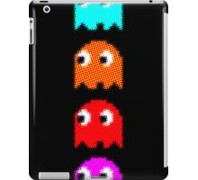 Blue PAC MAN GEEK 2 iPad Case/Skin