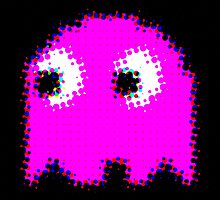 Pink PAC MAN GEEK by PASLIER Morgan