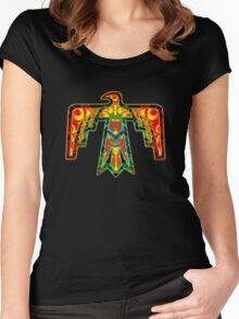 Thunderbird - American Indians - Power & Strength Women's Fitted Scoop T-Shirt