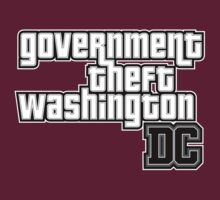 Government Theft Washington DC by David Ayala