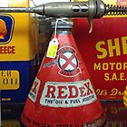 Vintage Oil Cans  by Ray Garrod
