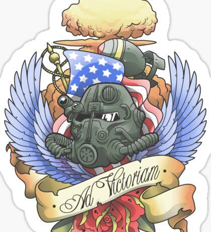 Ad Victoriam Sticker