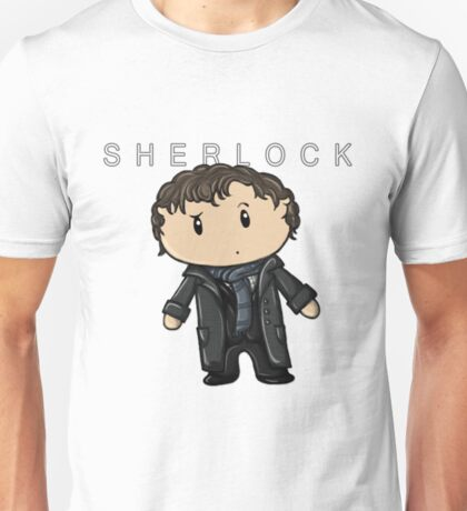 Sherlock | Benedict Cumberbatch [with text] Unisex T-Shirt