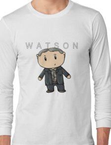 Watson   Martin Freeman [with text] Long Sleeve T-Shirt