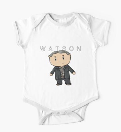 Watson | Martin Freeman [with text] One Piece - Short Sleeve