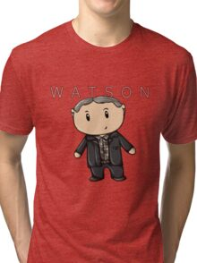 Watson | Martin Freeman [with text] Tri-blend T-Shirt