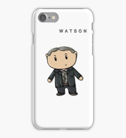 Watson | Martin Freeman [with text] iPhone Case/Skin