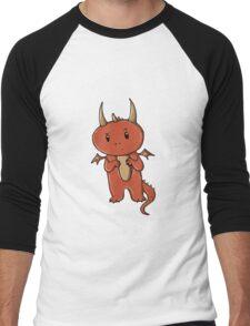 Smaug   Dragon [without text] Men's Baseball ¾ T-Shirt
