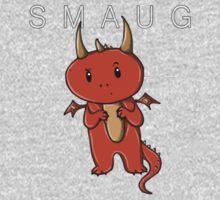 Smaug   Dragon [with text] Kids Tee