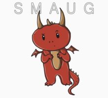 Smaug | Dragon [with text] by sebabybaby