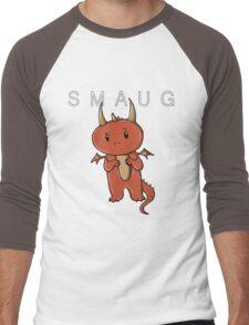 Smaug | Dragon [with text] Men's Baseball ¾ T-Shirt