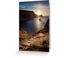 First Light at Man 'oWar Bay Greeting Card