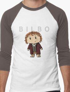 Bilbo | Martin Freeman [with text] Men's Baseball ¾ T-Shirt