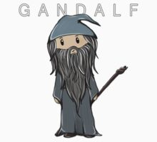 Gandalf | Ian McKellen [with text] Kids Clothes