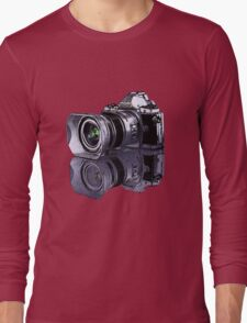 Olympus OM-D standing all on its own  Long Sleeve T-Shirt