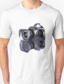Olympus OM-D standing all on its own  Unisex T-Shirt