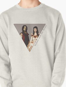 The picture of a beauty and her beast. T-Shirt