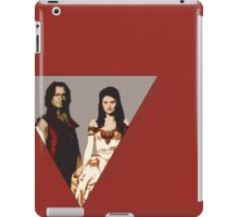 The picture of a beauty and her beast. iPad Case/Skin