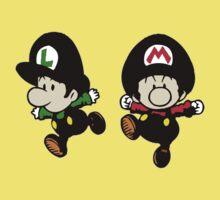Super Mario Bros - Mario & Luigi Kids Tee