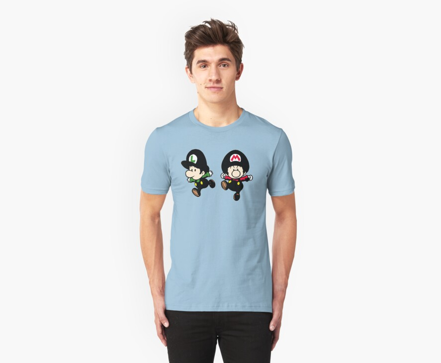 Super Mario Bros - Mario & Luigi by CopperChoc