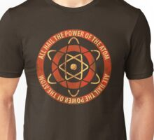1950's Retro Atom Power T-Shirt Unisex T-Shirt