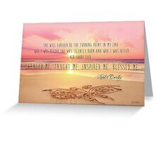 Lost For Words - April 2014 Greeting Card