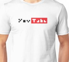 Pixel Youtube  Unisex T-Shirt