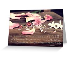 Lost For Words - July 2014 Greeting Card