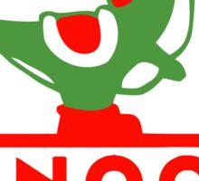 Yoshi Dinoco Sticker