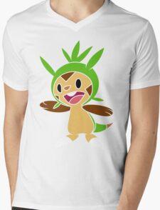 Chespin 1 Mens V-Neck T-Shirt