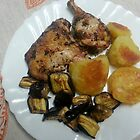 Lemon Garlic and Herb Chicken by Michael Redbourn