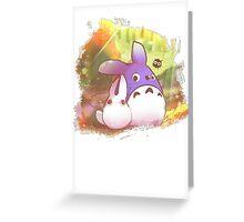 Totoro II Greeting Card