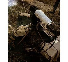 Water Cooled 30 Caliber Browning  Photographic Print