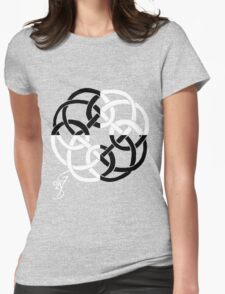 Celtic Four tiled Womens Fitted T-Shirt