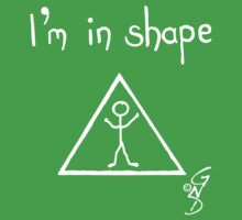 I'm in shape! invert One Piece - Short Sleeve