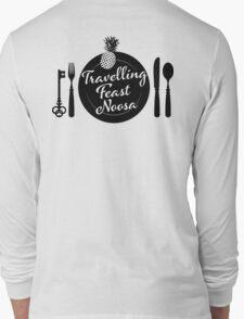 TFN black logo rear Long Sleeve T-Shirt