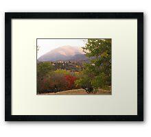 October morn' in Garden of the Gods (Colorado Springs) Framed Print