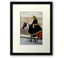 Cuenca Kids 349 Framed Print