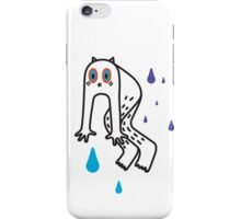 Scared puppet iPhone Case/Skin