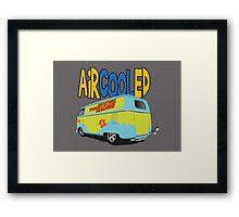 VW Surf Bus Pair Framed Print