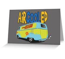 VW Surf Bus Pair Greeting Card