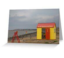Lifeguard Greeting Card