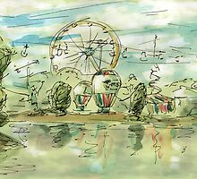 Ferris Wheel by MunnsBunns