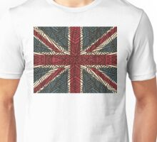 Union Jack - Vintage Tribal Unisex T-Shirt