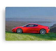 2004 Ferrari Challenge Stradale Canvas Print