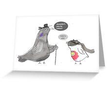 Batman & Robin Fancy Dress Greeting Card