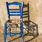 My blue chair by dominiquelandau
