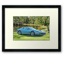 2000 Ferrari 550 Maranello Framed Print