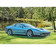 2000 Ferrari 550 Maranello Photographic Print