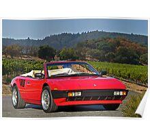 1985 Ferrari Mondial Cabriolet I Poster